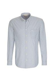 Camel Active ανδρικό πουκάμισο ριγέ - CD-85-115190 - Γαλάζιο