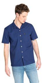 Lee ανδρικό κοντομάνικο πουκάμισο με τσέπη - L66DNBLH - Μπλε Σκούρο