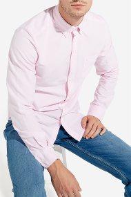 Wrangler ανδρικό πουκάμισο Οxford Button down - W5883BMU6 - Ροζ