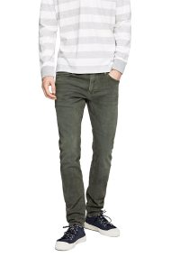 Pepe Jeans ανδρικό τζην παντελόνι Stanley washed effect L32 - PM210947YB22 - Χακί
