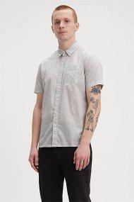 Levi's® ανδρικό πουκάμισο με μικροσχέδια print all-over Sunset - 6582601-51 - Λευκό