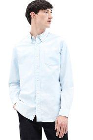 Timberland ανδρικό πουκάμισο μονόχρωμο Oxford - TB0A1NUWB021 - Ανοιχτό Γαλάζιο