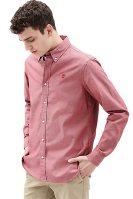 Timberland ανδρικό πουκάμισο μονόχρωμο - TB0A1OJIU251 - Κόκκινο image