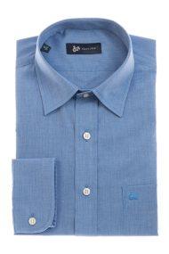 Dur ανδρικό πουκάμισο ύφανσης 'fil a fil' - 11020062 - Μπλε