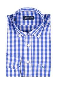 Dur Ανδρικό πουκάμισοκαρό - 11020635 - Μπλε