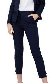 Billy Sabbado γυναικείο παντελόνι pencil με κουμπιά στο τελείωμα - 0299476236 - Μπλε Σκούρο