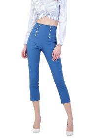 Billy Sabbado γυναικείο παντελόνι με κουμπιά - 0289486286 - Μπλε