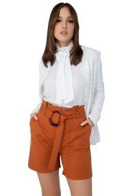 Billy Sabbado γυναικεία βερμούδα ψηλόμεση - 0243403236 - Πορτοκαλί