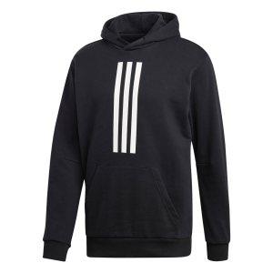 Adidas ανδρικό φούτερ με κουκούλα ID Heavy Terry - DZ0453 - Μαύρο