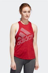 Adidas Γυναικεία Αθήτική Μπλούζα Badge Of Sport Tank - EB4537 - Κόκκινο
