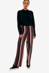 Jupe γυναικεία παντελόνα ριγέ - 21.191.J03.007 - Μπλε Σκούρο