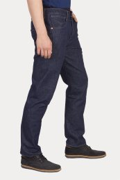 Levi's® ανδρικό τζην παντελόνι tapered fit 502™ Engineered Jeans ™ (32L) - 7277500-00-32 - Μπλε Σκούρο