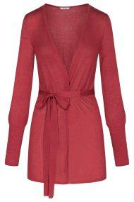 Orsay γυναικεία πλεκτή ζακέτα με λάστιχα στα μανίκια - 505368-346000 - Μπορντό