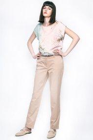 Γυναικείο παντελόνι, Esprit - 037EO1B001 - Μπεζ