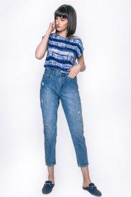 Γυναικείο παντελόνι Esprit - 057EE1B043 - Μπλε