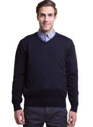The Bostonians ανδρική πλεκτή μπλούζα - MV1001 - Μπλε Σκούρο