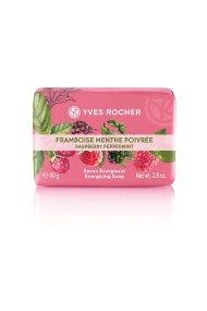 Yves Rocher Energizing Soap Raspberry Peppermint 80 gr - 43643