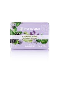 Yves Rocher Relaxing Soap Lavandin Blackberry 80 gr - 5764