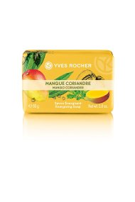 Yves Rocher Energizing Soap Mango Coriander 80 gr - 44059