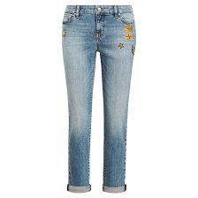 Lauren Ralph Lauren γυναικείο τζην παντελόνι Estate Crop Jean - 200711210001 - Ανοιχτό Γαλάζιο
