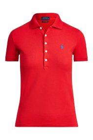 Polo Ralph Lauren γυναικεία μπλούζα Polo Slim Fit Stretch - 211505654113 - Κόκκινο