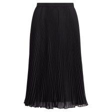 Polo Ralph Lauren γυναικεία φούστα πλισέ Pleated Georgette Skirt - 211705210001 - Μαύρο