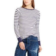 Polo Ralph Lauren γυναικεία μπλούζα Striped Cotton T-Shirt - 211717927001 -  Μπλε 060f8e47899