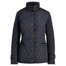 Lauren Ralph Lauren γυναικείο μπουφάν Quilted Mockneck Jacket - 297722606001 - Μπλε Σκούρο