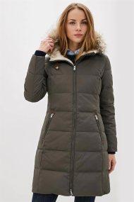 Lauren Ralph Lauren γυναικείo καπιτονέ μπουφάν με εσωτερική γούνα - 297728271004 - Ανθρακί