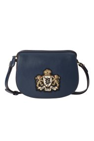 Polo Ralph Lauren γυναικείο τσαντάκι Bullion-Patch - 428745955001 - Μπλε Σκούρο