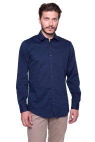 Ανδρικό πουκάμισο Trussardi - 52C0002350-1T000313 - Μπλε