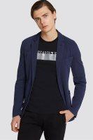 Τrussardi Jeans ανδρικό σακάκι Slim fit - 52H00029-1T002194 - Μπλε Σκούρο image