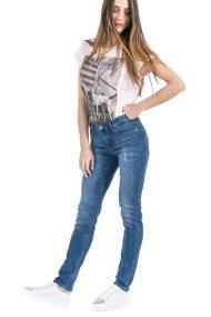 Γυναικείο παντελόνι Trussardi - 56585453 - Μπλε