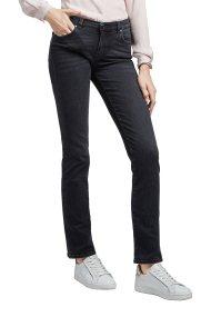 Trussardi Jeans γυναικείο τζην παντελόνι Classic fit stonewashed - 56J00007-1T001421 - Ανθρακί