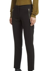 Trussardi Jeans γυναικείο παντελόνι stretch cigarette - 56P00108-1T001619 - Μαύρο