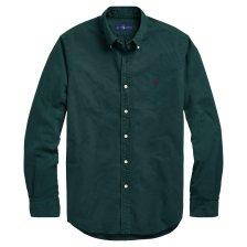Polo Ralph Lauren ανδρικό πουκάμισο πράσινο Classic Fit Oxford - 710716303005 - Πράσινο