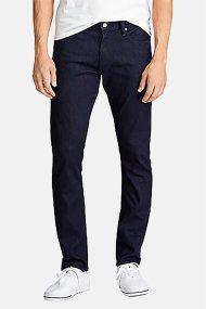 Polo Ralph Lauren ανδρικό ελαστικό τζην παντελόνι Slim fit - 710763437001 - Μπλε Σκούρο