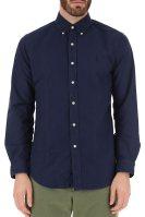 Polo Ralph Lauren ανδρικό πουκάμισο Oxrford Custom Fit - 710767446002 - Μπλε Σκούρο