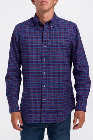 Polo Ralph Lauren ανδρικό πουκάμισο καρό - 710769717001 - Μπλε