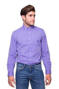 Ανδρικό πουκάμισο Chaps - 750676539002 - Μοβ