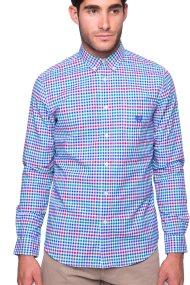 Ανδρικό πουκάμισο Chaps - 750676574001 - Μπλε