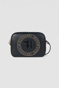 Trussardi Jeans γυναικείo mini bag με τρουκς Harper Camera - 75B00835-9Y099999 - Μαύρο Noir