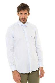 The Bostonians ανδρικό πουκάμισο με λεπτή ρίγα - A8P0011X - Ανοιχτό Γαλάζιο