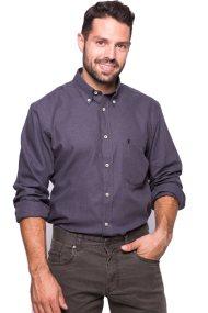 Ανδρικό πουκάμισο The Bostonians - AAP0389 - Ανθρακί