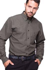 Ανδρικό πουκάμισο The Bostonians - AAP1040 - Χακί