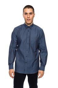 The Bostonians ανδρικό πουκάμισο μακρυμάνικο - AAP1264 - Μπλε Σκούρο