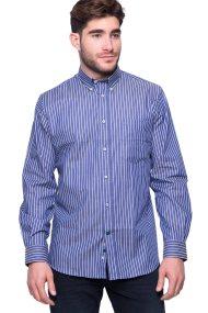 Ανδρικό πουκάμισο The Bostonians - AAS4229 - Μπλε