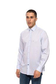 The Bostonians ανδρικό πουκάμισο μακρυμάνικο μονόχρωμo - AMP1170 - Ανοιχτό Γαλάζιο