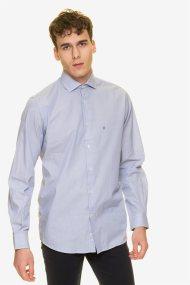 The Bostonians ανδρικό πουκάμισο με λεπτή ρίγα - ANS3040 - Γαλάζιο