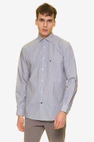 The Bostonians ανδρικό πουκάμισο ριγέ - ANS4464 - Γαλάζιο